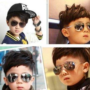 toddler colorful reflective yurt infant sunglasses gafas sol bebe occhiali da sole bambina lunette soleil bebe bdehome LZkSS