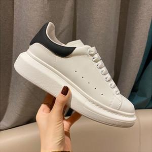 2020 En Lüks Tasarımcı Günlük Ayakkabılar Kadın Erkek Eğitmenler Beyaz Deri Platform Ayakkabı Düz Chaussures De Sport Zapatillas Süet Sneakers
