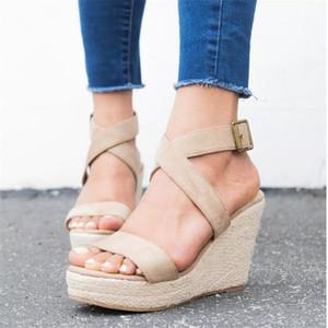 Shoes Woman Sandals Ladies Shoes Women Chaussure Pumps Cross-tied High Heels Platform