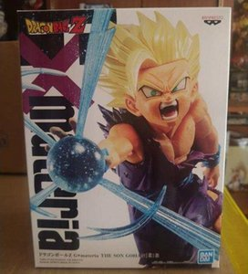 In Stock Original Banpresto Dragon Ball G Materia Kid Gohan Toys Model Figurals Brinquedos Y200703