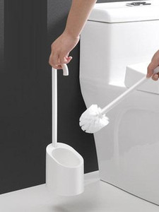 Home PP Toilet Brush & Holder Set Cleaner WC Washroom Lavatory Brush Clean Accessory Tool Bathroom Magnetic Cleaning LY306