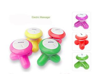 Mini électrique Handled ondes vibromasseur USB Batterie Full Body Massage mignon Mini électrique de massage
