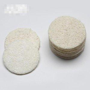 Natural Loofah Facial Pads Loofah Disc Makeup Remove Exfoliating Face Pad Small Size Luffa Loofa LX5915