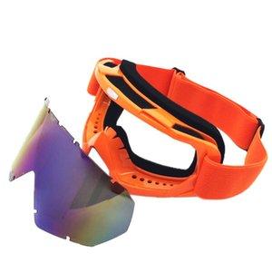 En Yeni Kayak Snowboard Gözlükler Önlemek Rüzgar Karmobil Dirt Bike Gözlük Motokros Off-Road Gözlük Çok Renkli