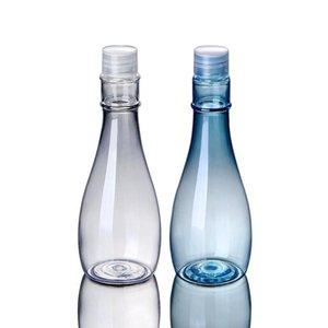 Bottiglie di plastica contenitori cosmetici 150ml Lotion Toner Essence trasparente bottiglia di imballaggio bottiglie trucco bagagli Vasi DHB618