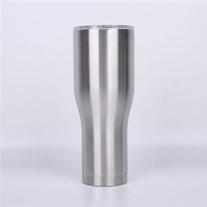 뚜껑 40온스 곡선 텀블러 스테인레스 스틸 컵 커브 텀블러 커피 맥주 잔을 두 번 벽 진공 절연 물 병