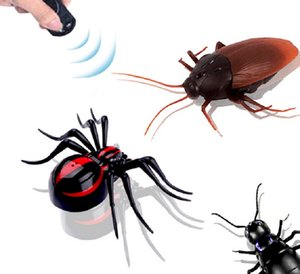 Control remoto Realista Fake Spider RC Broma Juguetes Insectos Broma Miedo Truco Control infrarrojo (Ant / Spider / Cucaracha)