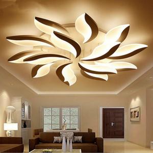 moderno in acrilico in alluminio ha condotto la luce di soffitto Verlichting Plafond Lamparas De Techo Lampara De Techo Led Moderna Lustr Lamba