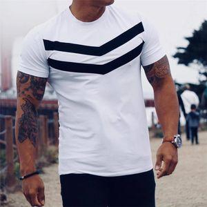 Novo Homens T-shirt de algodão de manga curta preta Undershirt Masculino tarja sólida Mens Tee Verão Marca Roupa Homme Camiseta masculina