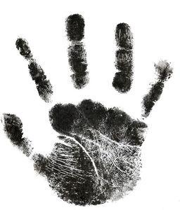 Baby-Tatzen-Druck-Auflage Neugeborene Hand Footprint Makers Fuß Photo Frame Pad Kits Erinnerungen Souvenirs Hand Footprint Makers drucken