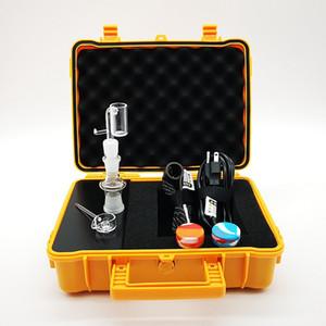 E prego Pelican elétrica Dab prego Controlador Wax PID TC Box com titânio 10 milímetros 16 milímetros 20 milímetros Domeless Com Quartz prego