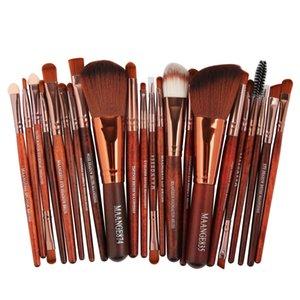 New Fashion Style 22pcs Cosmetic Makeup Brush Blusher Eye Shadow Brushes Set Kit Makeup Brush Set Zsmw
