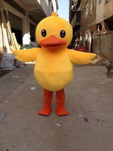 Vente en gros de haute qualité Big Yellow Rubber Duck costume de mascotte Cartoon spectacle Costume Livraison gratuite