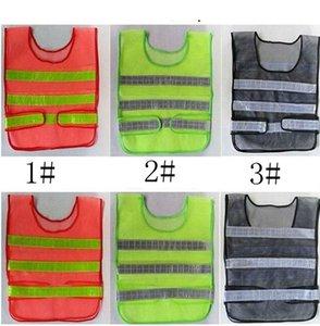 Yansıtıcı Uyarı Yelek Yüksek Yoğunluklu Yansıma Emniyet Makaleler Trafik Güvenli Giyim Üniforma Yelek Nefes Reflektif Yelek LJJK2140