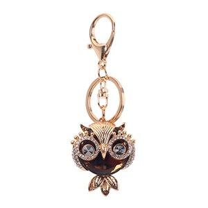 Keychain Pendant Charm Bag Decoration Owl Shape Tassel Fashion For Women