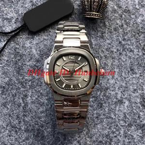 Mode NAUTILUS 7011 / 1G-010 Dame Uhren Grau Wahl Frauen Quarzwerk montres de luxe gießen femmes Hochwertige alle 32mm Stahl