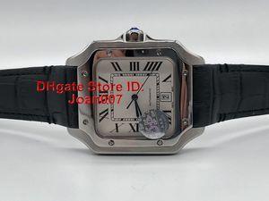 2019 Neue Uhren Edelstahl-Uhr Automatik-Uhrwerk mechanische Silber Fall Männer Sport-Armbanduhr-DP-Fabrik Super-Uhr