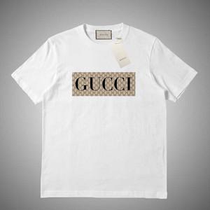 GUCCI 2019 Summer Marque T-shirt des hommes Planches à roulettes O-Neck manches courtes Hip Hop femmes T-shirt rayé Casual Top Undershirt T-shirts # 876453