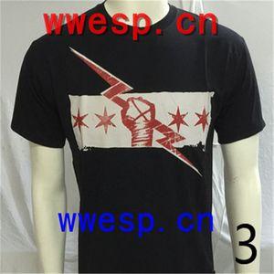 High quality ofWWE cotton T-Shirt, mens designer t shirts super star with john cena cm-punk Daniel Bryan RKO t03