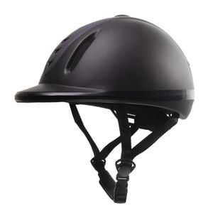 Ajustável Equitação Helmet Low Profile Equestre Safety Gear - XL