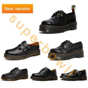 Dr Martins Chaussures 1461 Lisse Man Martins Femmes Polley Mary Jane Man 3989 Martin Chaussures 8056 Martins UE 35-46