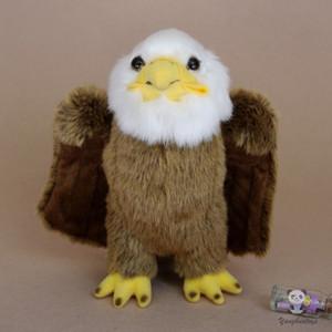 Doux Real Life Eagle Poupée En Peluche Peluches Enfants Jouets Mignonnes Poupées Jouet Cadeau Très Belle Décoration