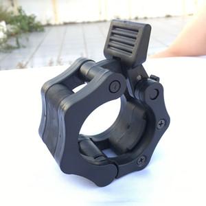 1 unidades 50mm Spinlock collares Barbell Collar bloqueo mancuerna Barbell Collar Clips abrazadera gimnasio levantamiento de pesas Fitness entrenamiento