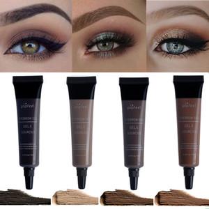 Popfeel 3D Fiber Eyebrow Gel Mascara Cream Eye Brow Makeup Set Kit Waterproof Long Lasting Eyebrow Enhancer Cosmetics Eye Beauty