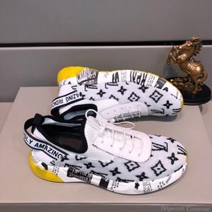 2020U fascia alta moda in edizione limitata in pelle uomini s comode scarpe casual, tendenza selvatici scarpe sportive all'aperto, l'imballaggio scatola originale