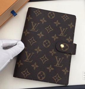 2020 Hombres cuaderno de cuero genuino titular de la tarjeta de crédito de lujo las mujeres pasaporte cubrir cartera a los hombres de negocios titular de la tarjeta cartera de viaje We07 F57