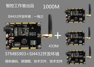 Si4432 беспроводной модуль, 433M STM8S доска развития, CC1101 доска развития, NRF24L01 доска