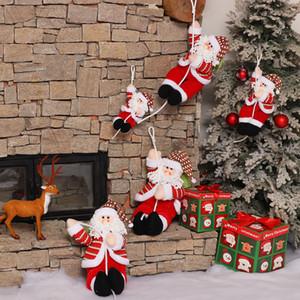 Adornos de Navidad de Santa Claus cuerda de escalada muñeca comercial Supermarket Hotel de Navidad Decoración colgante