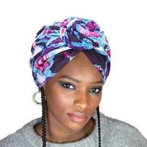 Новая мода женщины тюрбан Африканский узор печати тюрбан шляпы платок головная повязка бандана головные уборы аксессуары для волос