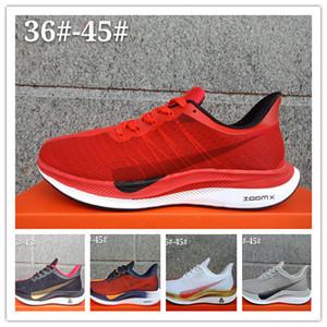 35 Zoom Pegasus Turbo racer Homens Mulheres Sports Running Shoes Bred Originais Pegasus 35 athletic formadores de luxo tênis sapatos de grife 36-45