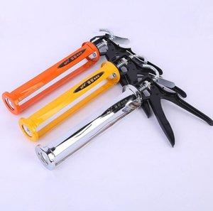 Glass glue gun aluminum alloy rotary caulking labor-saving durable glue gun beautiful seam tool non-structural glue gun