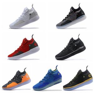 ayakkabı tasarımcısı Kevin Durant 11'ler Yakınlaştırma kapalı spor ayakkabıları beyaz lüks KD EP Elite Düşük Sneakers çalışan mens 11 spor ayakkabı Kd