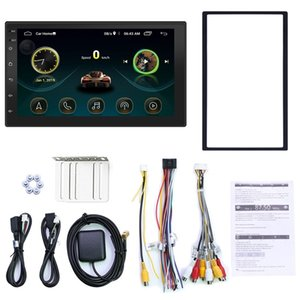 Double Din Android 8.1 Universal Car Multimedia MP5 Player GPS Navigation 7 Inch HD Touch Sn 2 din Built in WiFi Car Stereo