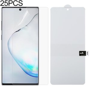 For Galaxy Note 10 Lite 25 PCS Full Screen Protector Explosion-proof Hydrogel Film