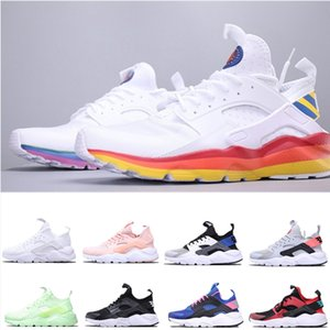 Newest Huarache ultra Sports Running Shoes for Men Women Triple white Mens Trainer Classic Designer Sneakers Breathable Sock Shoes size 5-11