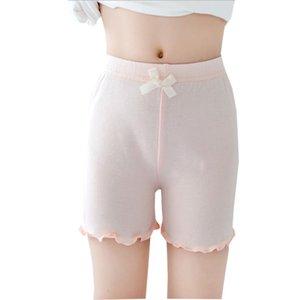 Los pantalones niñas pantalones de seguridad de calidad superior de los niños a corto verano de los niños de la ropa interior de los calzoncillos cortocircuitos lindo elástico de seguridad Legging bragas