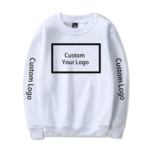 WAMNI Sweat-shirt à capuche personnalisé Logo Imprimer Sweat-shirt à capuche personnalisé coton Streetwear Réchauffez ras du cou Vêtements V191019