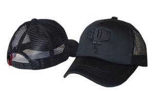 2019 polos Deus Ex Machina Baylands Trucker Snapback Caps noir MOTORCYCLES Casquette de baseball maille sport prier octobre casquette