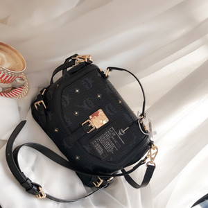 Ladies Bag 2019 New Leather Fabric Large Capacity Travel Essential Tote Multi-purpose Practical Messenger Crossbody size26*20cm