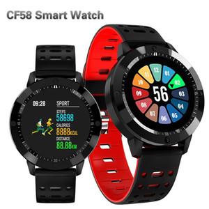 CF58 intelligente Guarda sanguigna La pressione sanguigna ossigeno cardiofrequenzimetro Tracker Sport intelligente orologio da polso Fitness Tracker braccialetto per iPhone Android