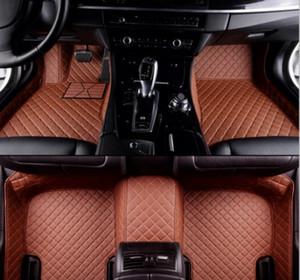 Acura MDX 2007-2017 için geçerli cwaterproof Araba paspas paspaslar kaymaz Halılar zemin mat Toksik olmayan ve kokusuz