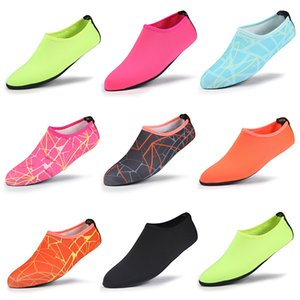 1 5 10pcs Breathable Comfortable Snorkeling Swimming Water Sport Socks Anti Slip Shoes Yoga Fitness Dance Beach Socks TXTB1