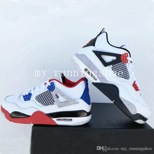 2019 New 4s What The 4 IV Men Basketball Shoes Best Quality With Box 4s sneaker trainer Free Shipping Sports Shoes
