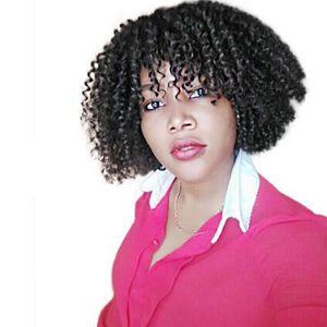 "Hot! 3Pcs Set Nature Black Malibob Ombre Braiding Synthetic Bulk Hair Extensions 8"" Mali Bob Twist Freetress Kinky Curly Crochet Braids"