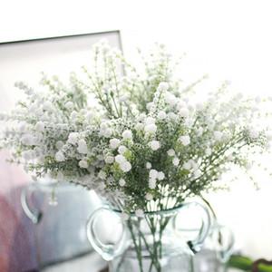 Respiro di neve del bambino del Gypsophila artificiale schiuma di plastica Fiore Gissola con il Partito della neve casa di nozze decorazione del fiore