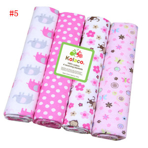 Kids Bedding Sheets Baby Beding Blanket Owl Print Dot Flower Bed Sheets Sleeping Sheets Cotton Bedsheet Flannel Blankets Bedclothes